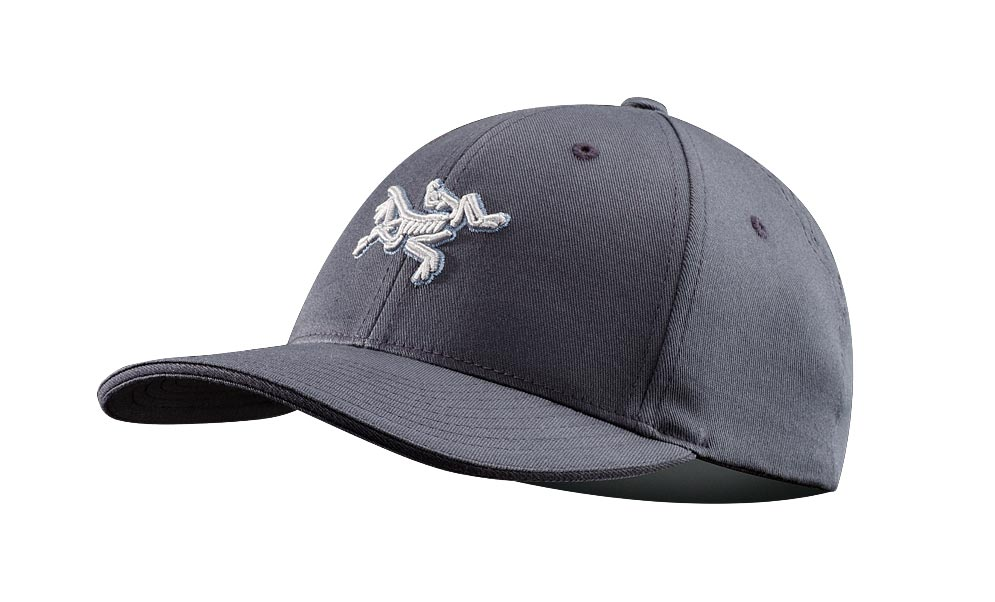 Arcteryx Dark Grey Embroidered Bird Cap