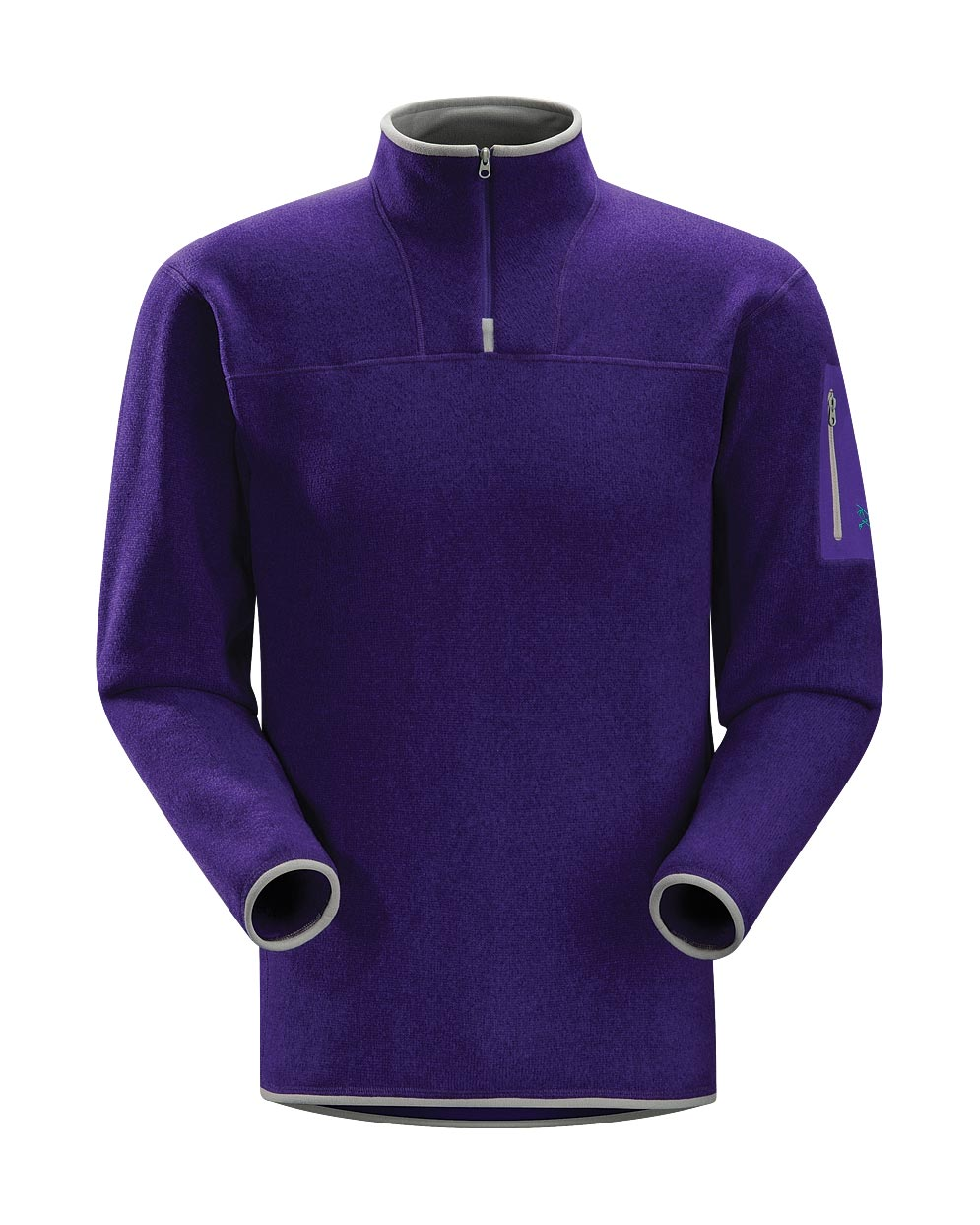 Arcteryx Squid Ink Covert Zip Neck